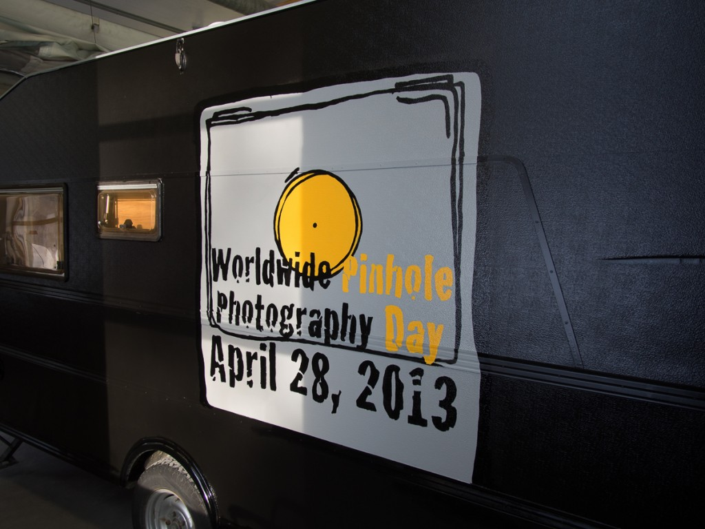 The WPPD 2013 logo as it is painted on the left side of the trailer