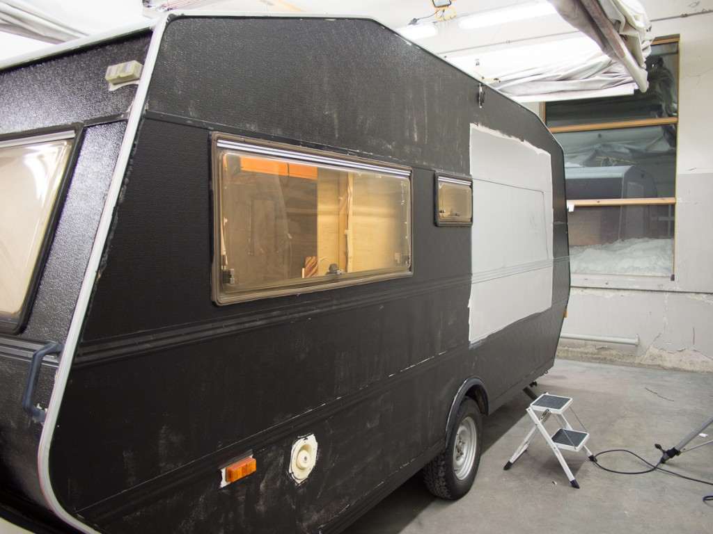 The left side of the Cameravan, where the WPPD 2013 logo is supposed to be